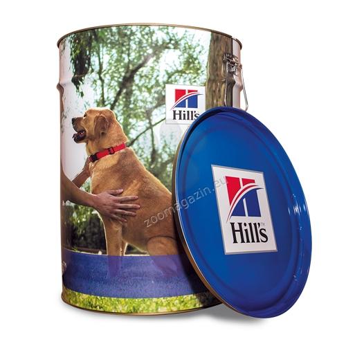Hills Science Plan - метален контейнер за съхранение на храна