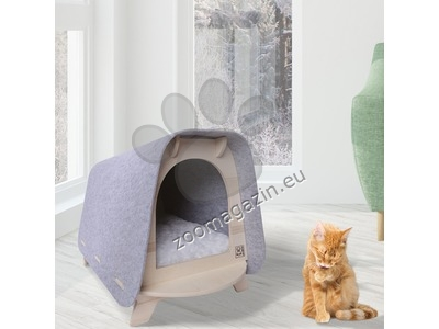 M-Pets Woody Cozy Cat House - котешка къщичка 64 / 49 / 45 см.