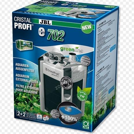 JBL CristalProfi e702 greenline - външен филтър, за аквариуми от 60 - 200 литра