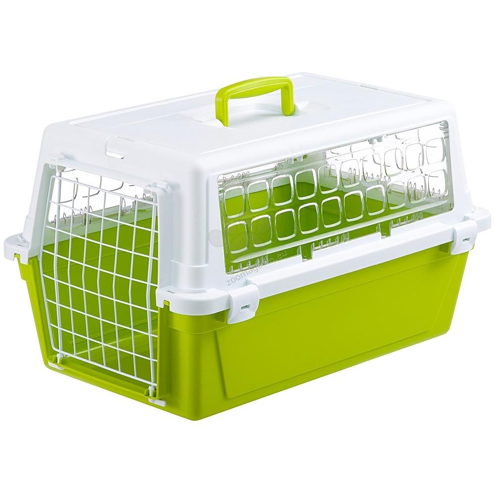Ferplast - Atlas Trendy 10 - транспортна чанта 48 / 32.5 / 29 см. / зелена, розова /