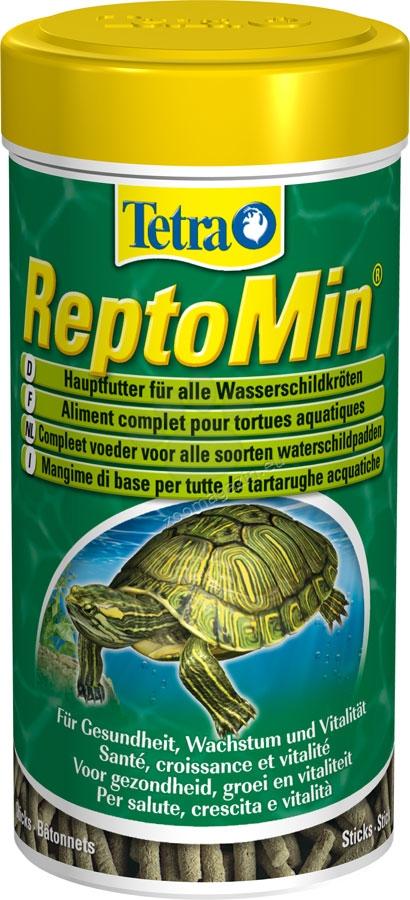 Tetra - ReptoMin - универсална храна за земноводни костенурки 250 мл.