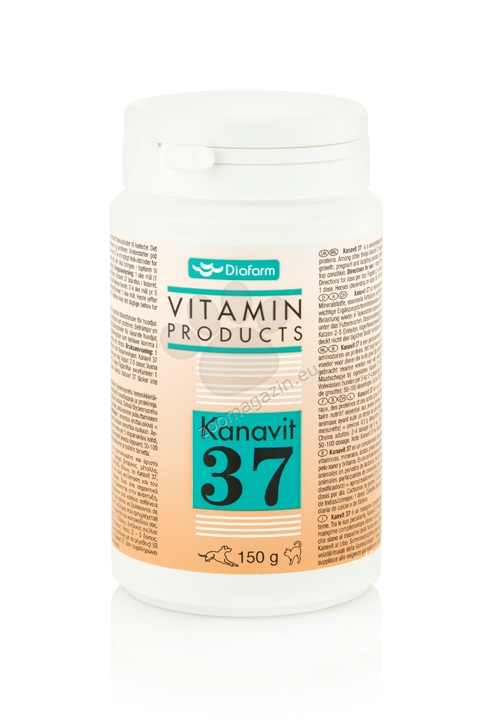 Kanivit 37 - Витамини - Аминолиселини - Минерали 150 гр.
