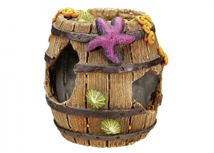 Nobby Barrel - декорация за аквариум 8.5 / 8.5 / 9 см.