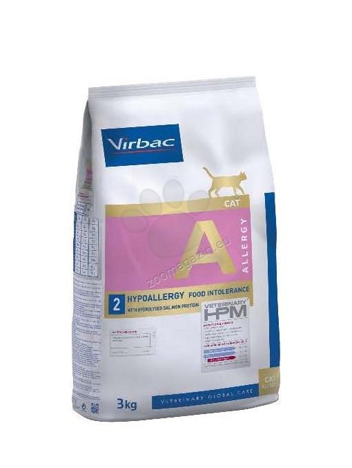 Virbac Hypoallergy - Диетична храна с хидролизиран протеин от сьомга за котки с хранителни алергии 3 кг.