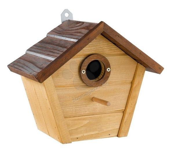 Ferplast - Natura N4 - градинска къщичка за диви птички 25,8 / 15,8 / 22 cm