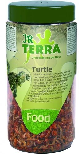 JR Farm Terra Food Turtle - висококачествена храна за костенурки, богата на протеини 70 гр.