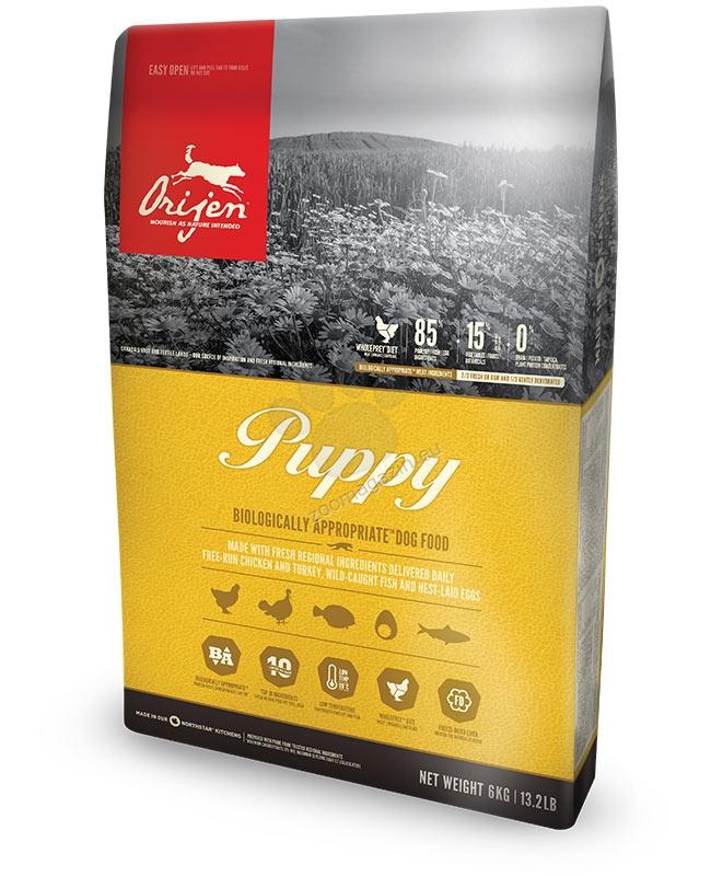 Orijen Puppy New Formula - за кучета малки и средни породи от 1 до 12 месеца - 11.4 кг.