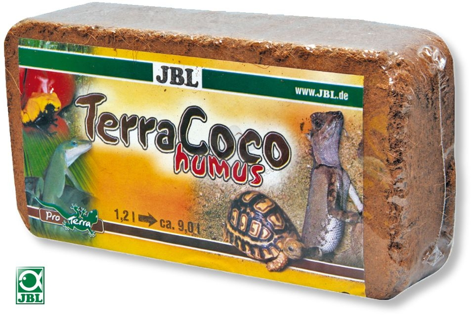 JBL TerraCoco Humus - постелка за горски терариуми 600 грама