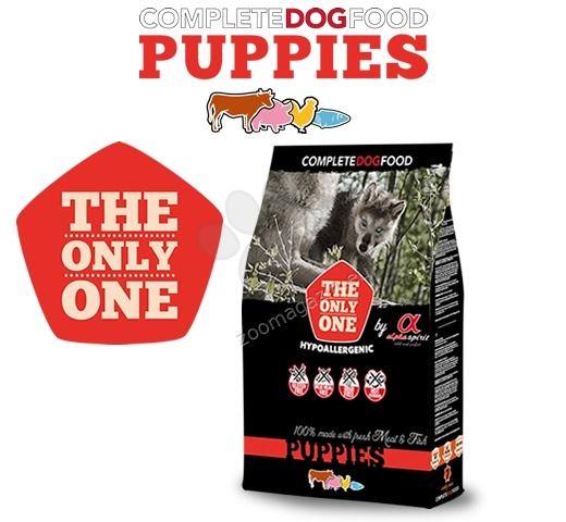 Alpha Spirit The only one Puppies - за кучета от 2 до 12 месечна възраст, подходяща за всички породи 3 кг.