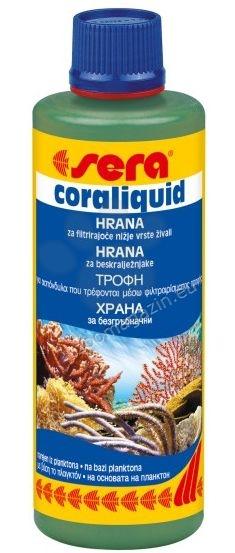 Sera Coraliquid - течна, високоенергийна храна на основата на планктон за корали 250 мл.
