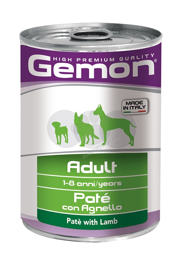 Gemon with Lamb Adult - с агнешко месо, пастет 400 гр.