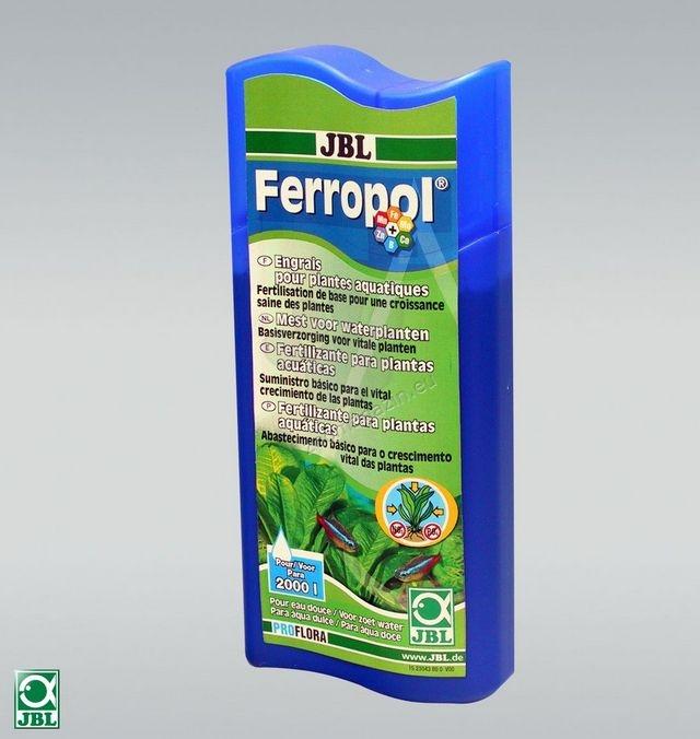 JBL Ferropol - течна тор за аквариумни растения с микроелементи 500 мл.