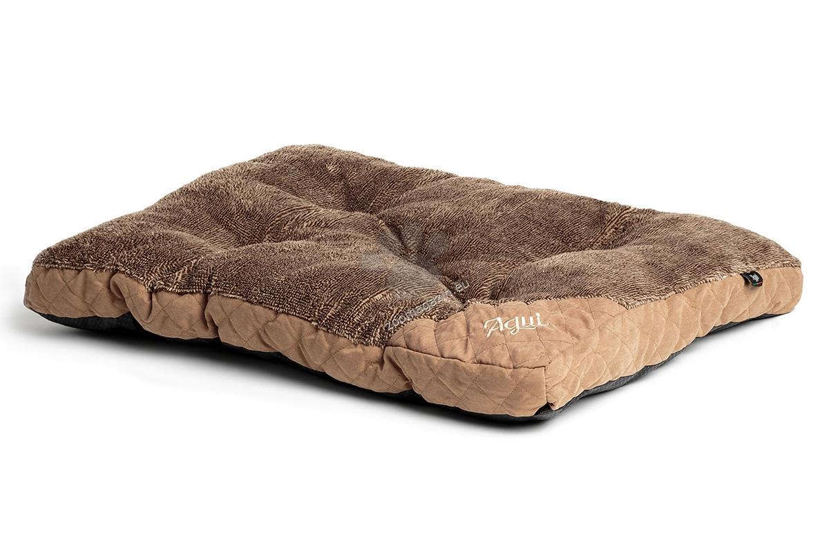 Agui Mountain Cushion - луксозен мек матрак 90 / 60 / 7 см. / кафяво, синьо, червено /