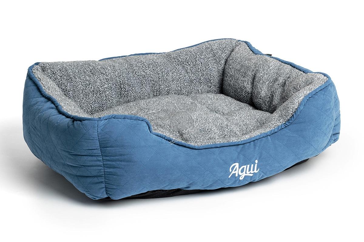 Agui Mountain Bed - луксозно меко легло 90 / 70 / 20 см. / кафяво, синьо, червено /