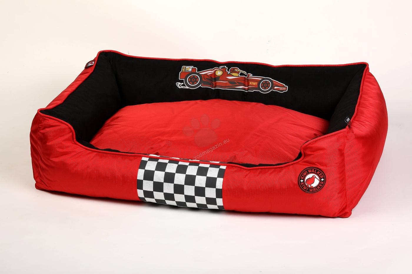 Kiwi Walker Bed Border М - ортопедично легло с мемори пяна 65 / 45 / 22 см. / червен, син, зелен, оранжев /