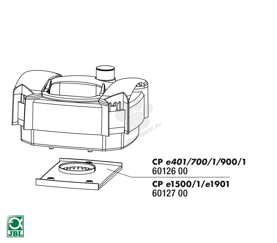 JBL CP e401bis e900/1 distributor plate - уплътнение CP e401-701-901