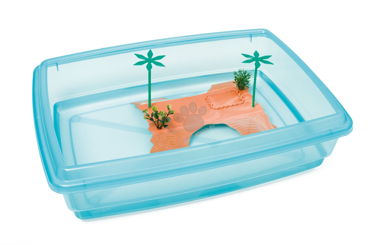 Georplast - Tortuga Jumbo - терариум за водни костенурки 54 / 40 см.