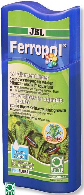 JBL Ferropol  - течна тор за аквариумни растения с микроелементи  100 мл.