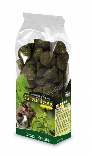 JR Farm Grainless Herb Drops - деликатесни бонбони от билки 140 гр.