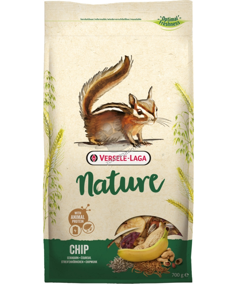 Versele Laga - Nature Chip - пълноценна храна за катерички 700 гр.