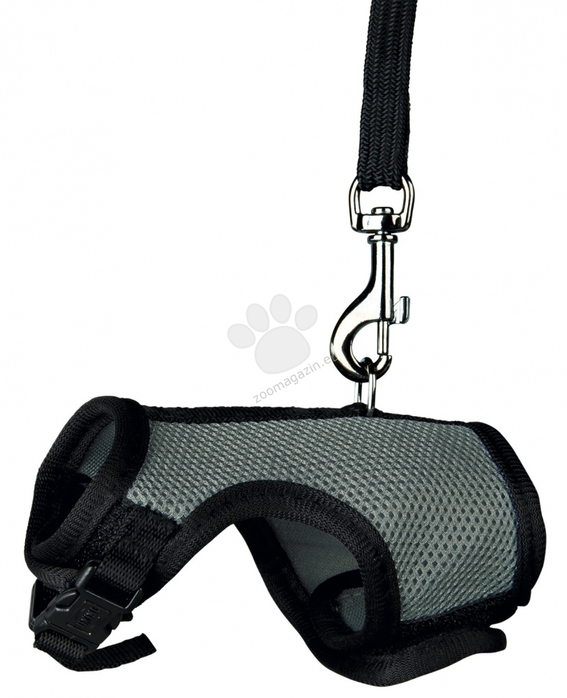 Trixie Soft Harness with Lead - θώρακα και λουρί για τρωκτικά 12 -18 cm.