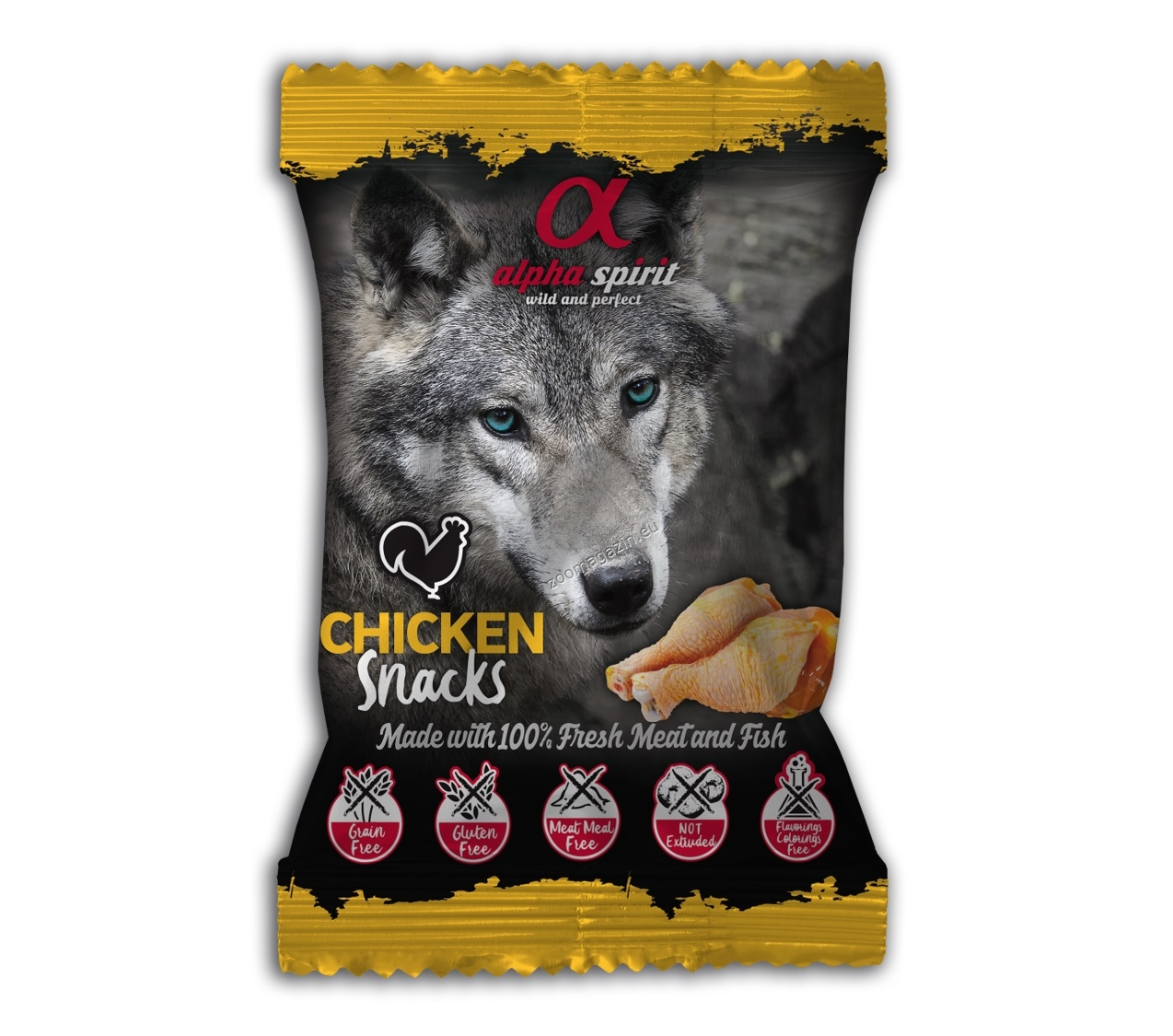 Alpha Spirit Snack Chicken - снакс с пилешко месо 50 грама