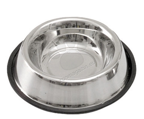 Kerbl Stainless Steel Bowl - метална купичка с гумен кант 450 мл.