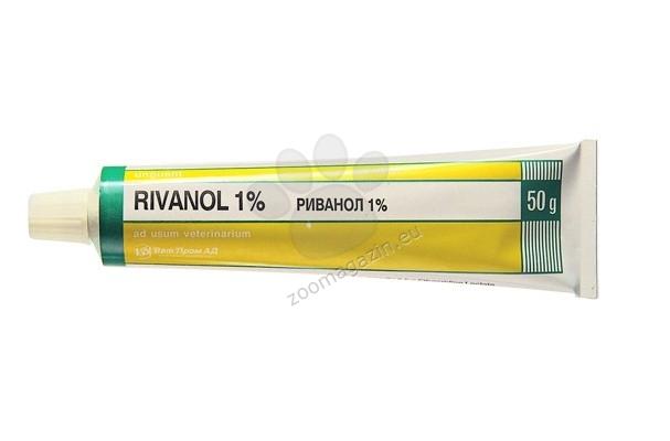 Вет Пром Риванол 1% - продукт за външна употреба 50 грама