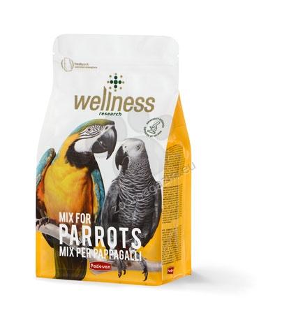 Padovan Wellness Mix for Parrots - премиум храна за големи папагали (жако, ара, амазони) 750 гр.