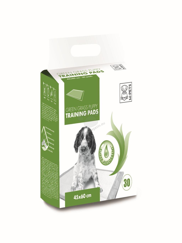 M-Pets Puppy Training Pads - подложки с аромат на трева 60 / 45 см., 30 броя