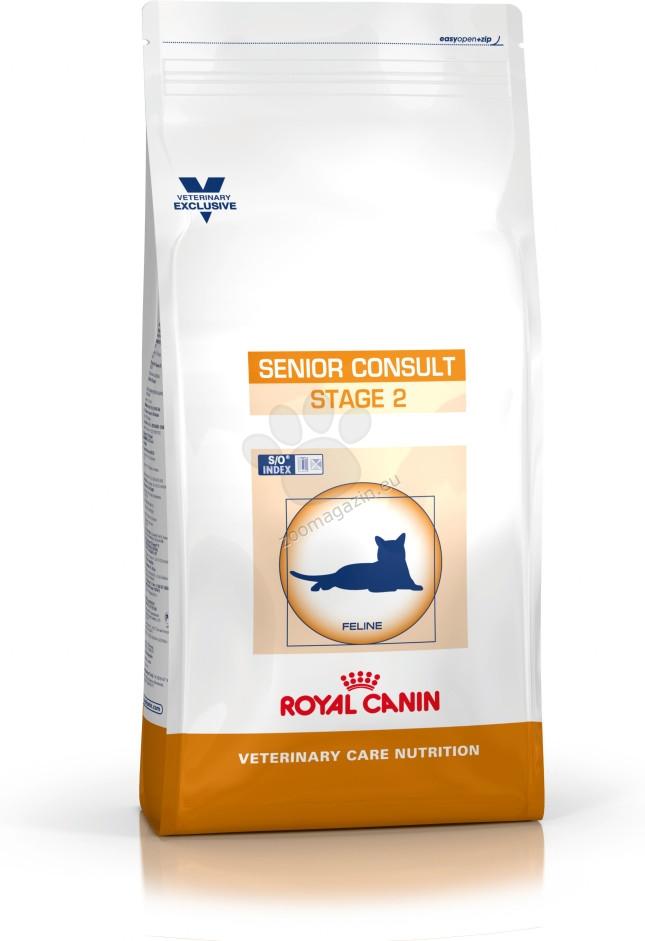 Royal Canin Senior Consult Stage 2 - пълноценна храна за котки над 10 годишна възраст  3.5 кг.