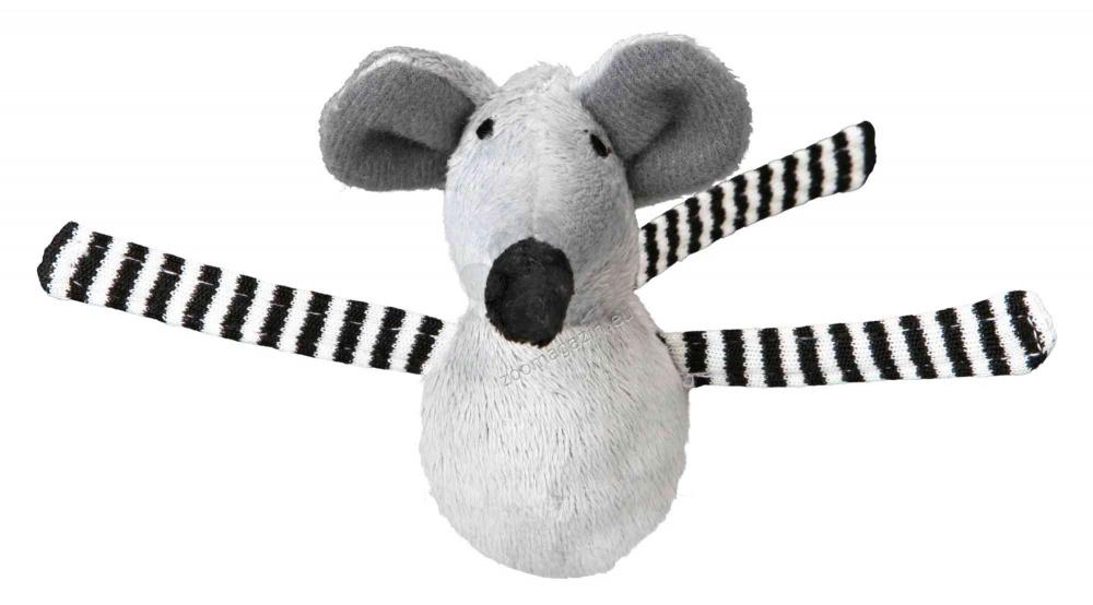 Trixie Shaky Bobo Mice - плюшена мишка 8 см.