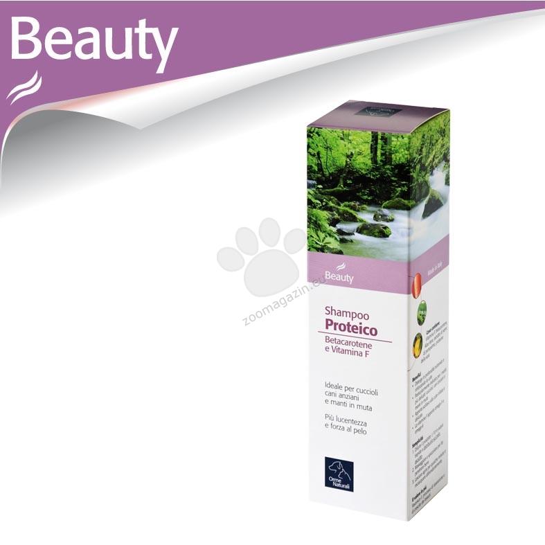 Camon Ormenaturali Protein Shampoo - протеинов шампоан с витамин F и бета-каротин 200 мл.