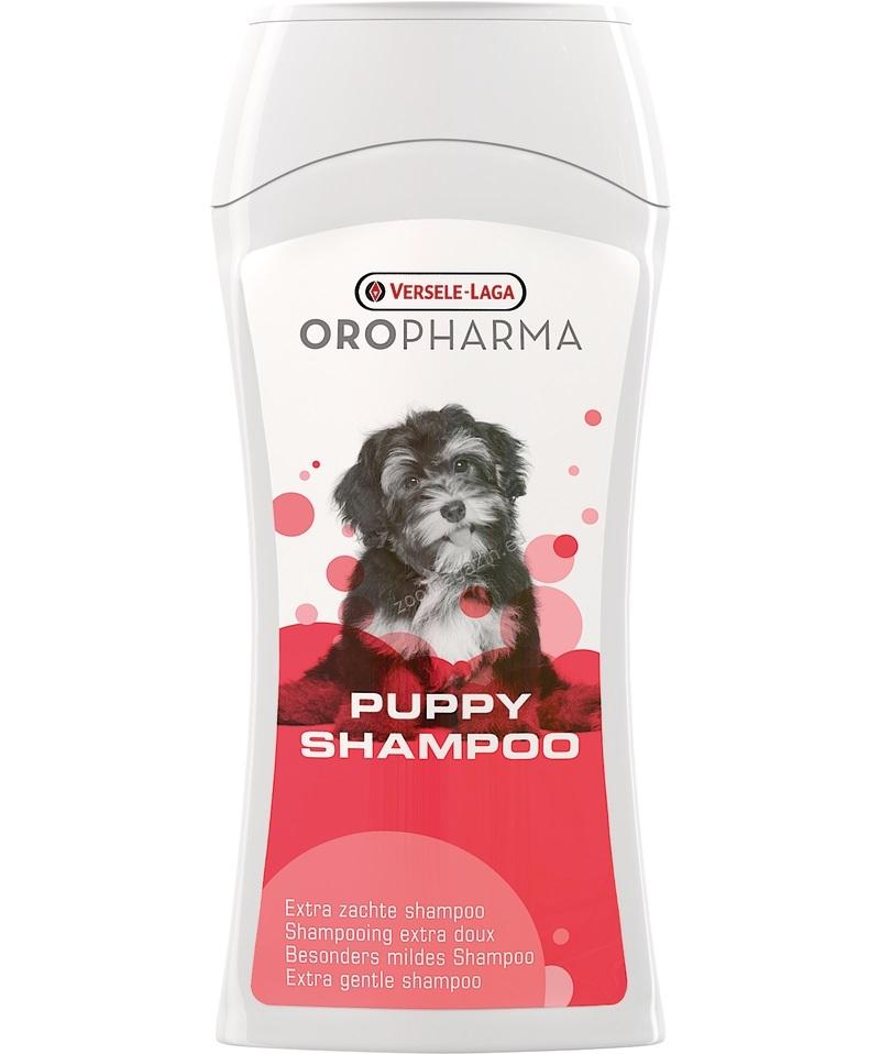 Versele Laga - Oropharma Puppy Shampoo - нежен шампоан за малки кученца и за кучета с чувствителна кожа с лайм и бадемово мляко 250 мл.
