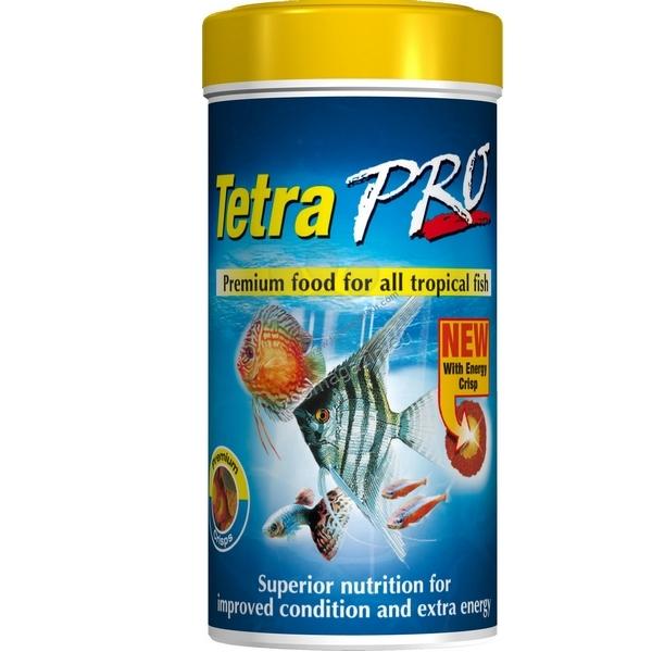 Tetra - TetraPro - хрупкави хапки за тропически рибки 100 мл.