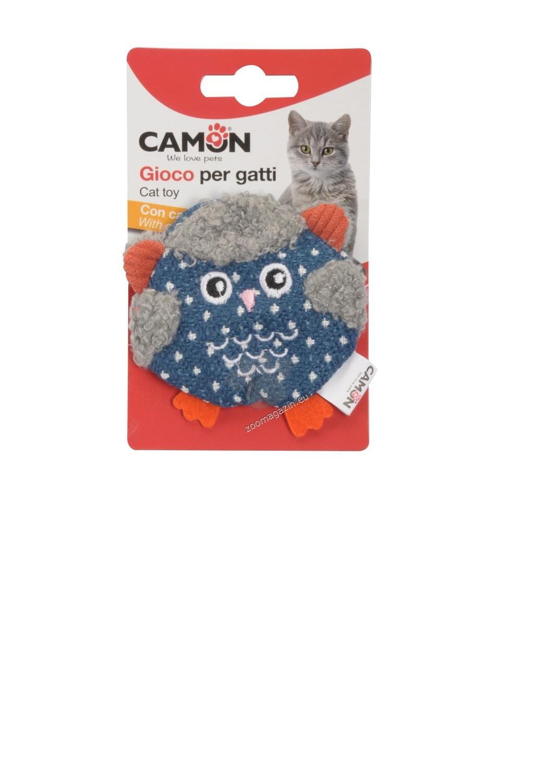 Camon Cat toy with catnip - Owl - котешкa играчка