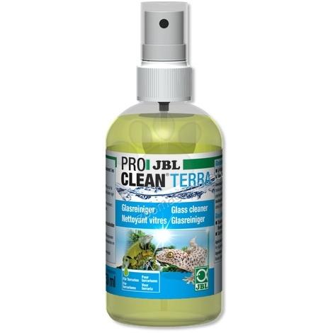 JBL ProClean Terra - препарат за почистване на стъкло за терариуми 250 мл.