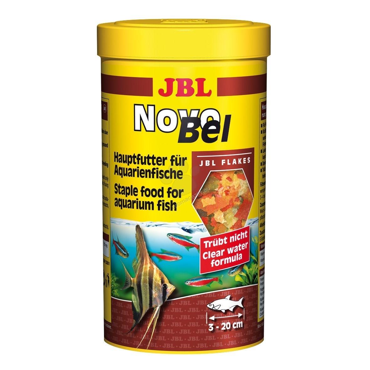 JBL NovoBel - βασική τροφή για όλα τα διακοσμητικά ψάρια - 1000 ml