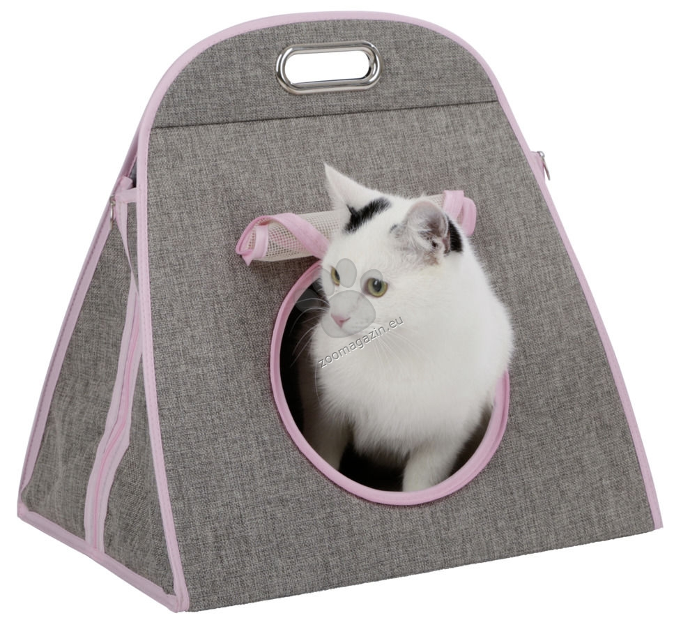 Kerbl Carry Bag Multi 3in1 - къщичка с драскалка 42 / 30 / 40 см.