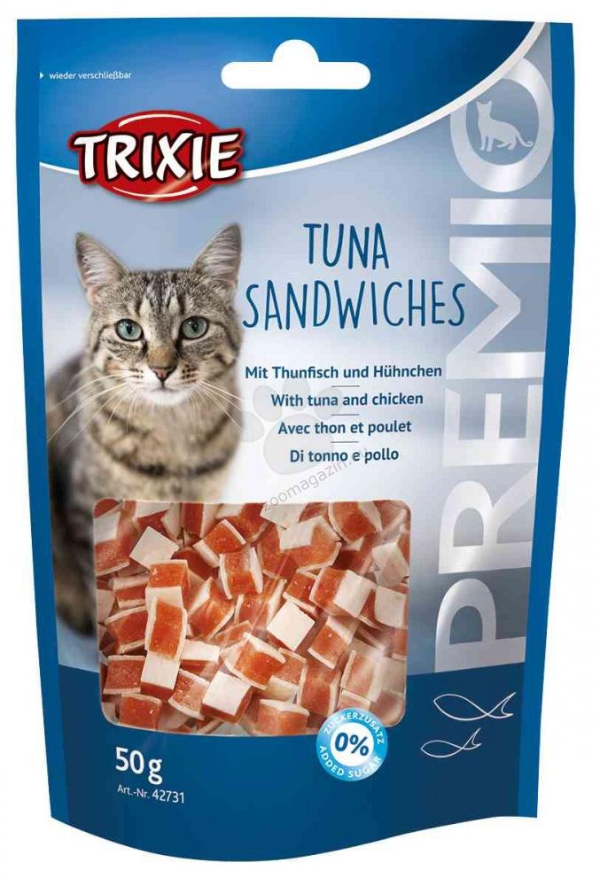 Trixie - PREMIO Tuna Sandwiches - деликатесно лакомство с месо от риба тон 50 гр.