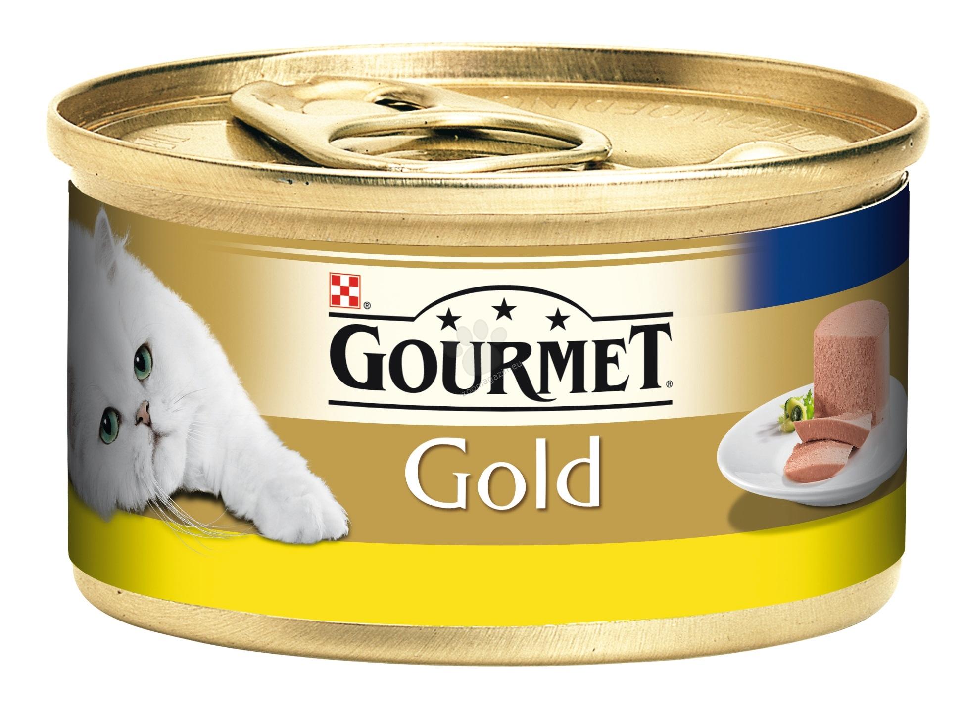 Gourmet Gold Mousse Chicken - пастет от пиле - 24 х 85 гр. / стек /