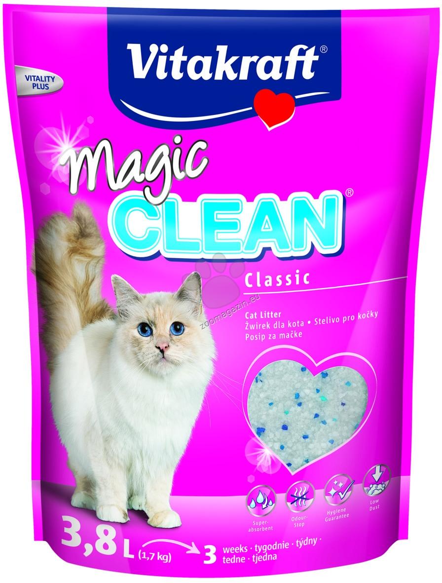 Vitakraft - Magic Clean - силиконова котешка тоалетна 3.8 литра