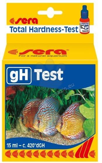 Sera - gH Test - определя общата твърдостта на водата 15 мл.
