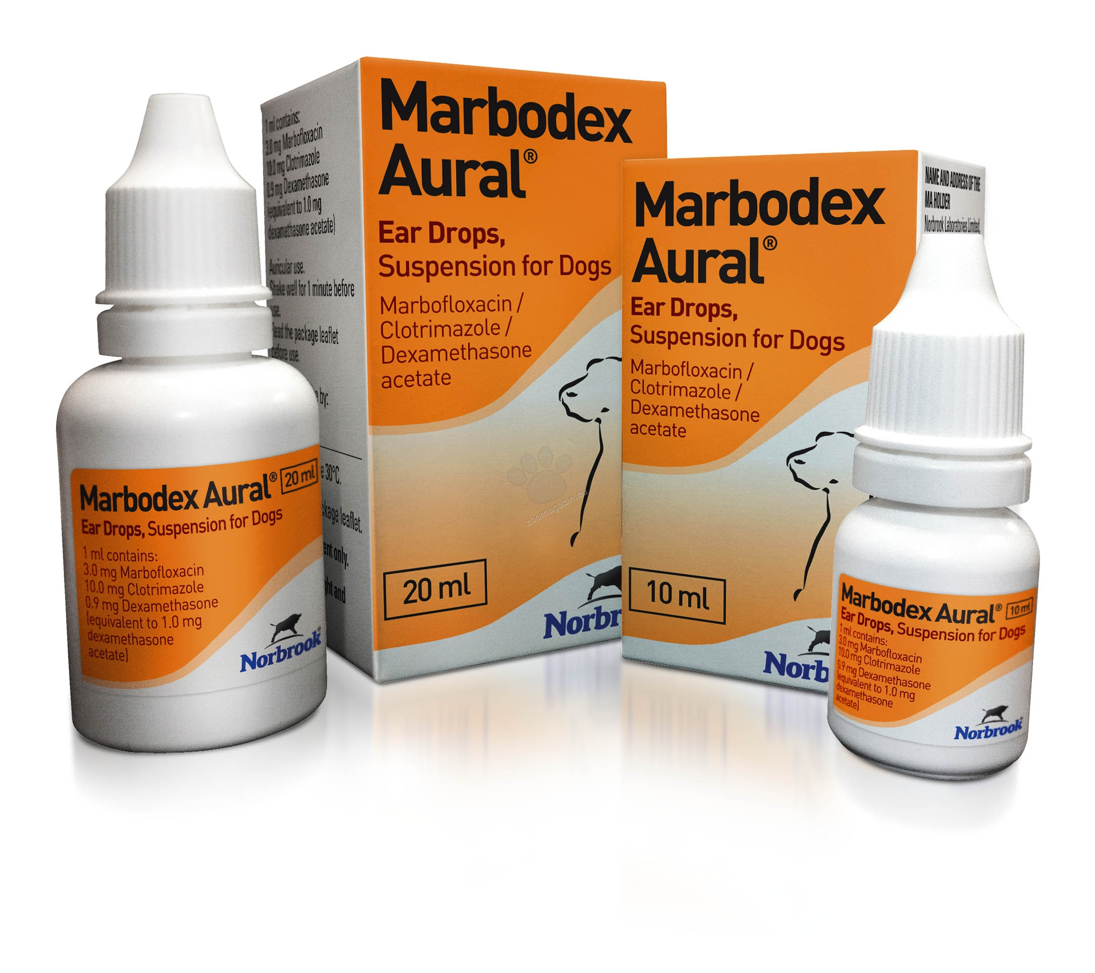 Marbodex / Марбодекс / - капки за уши 10 мл.