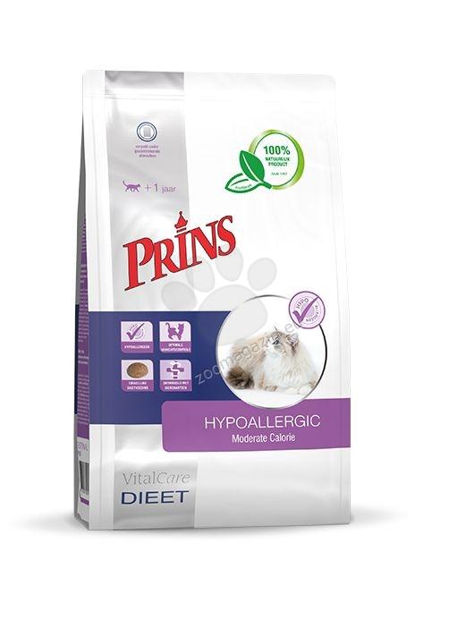 Prins VitalCare det Moderate Calorie - диетична храна за котки със свръхчувствителност към храна и / или за подпомагане на стомашно-чревни проблеми 1.5 кг.