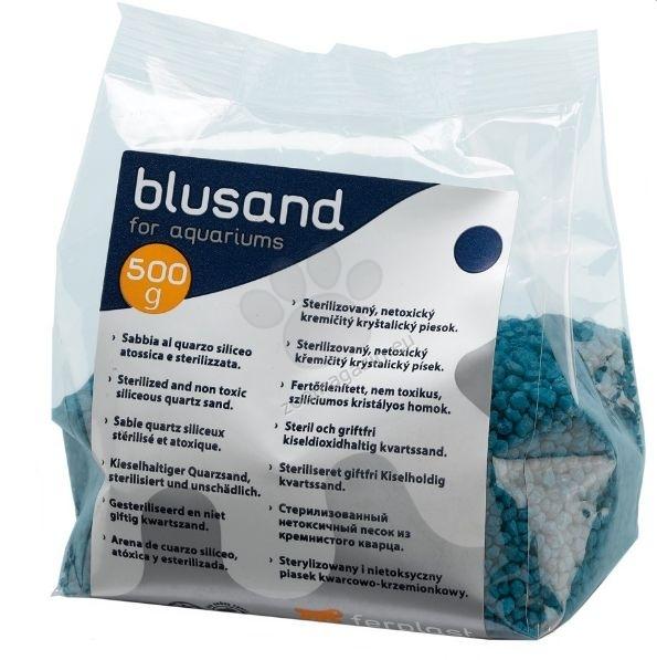 Ferplast - Blusand Blue - цветен пясък син  500 гр.