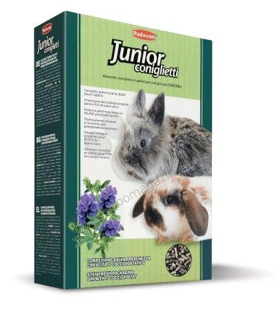 Padovan Junior coniglietti - пълноценна храна за малки зайчета 850 гр.
