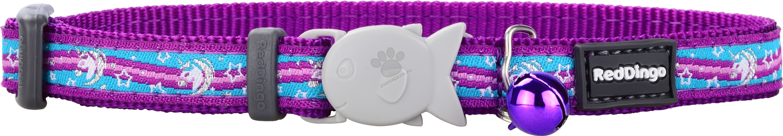 Red Dingo - Cat Collar Unicorn Purple - котешки нашийник, 12 мм х 20-32 см