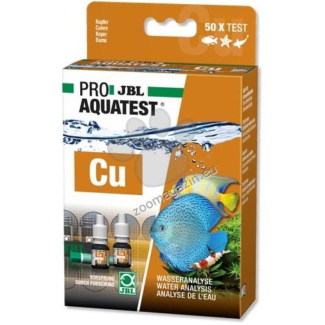 JBL Proaquatest Cu Copper - тест за измерване на мед във водата 50 теста