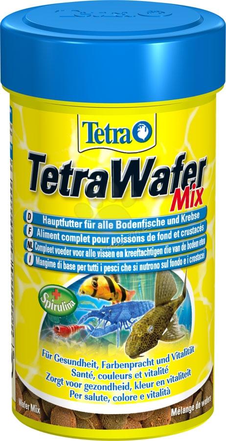 Tetra - TetraWafer Mix - специализирана храна за дънни рибки 15 гр. / пликче /